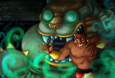 Tzekel-Kan's Magic by imperator-antea