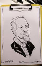 Inktober 2017 Day03 Caricature02 by weresqwirrel