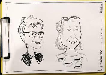 Inktober 2017 Day03 Caricature04 by weresqwirrel