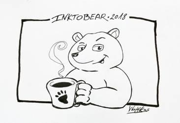 Inktobear 01 by weresqwirrel