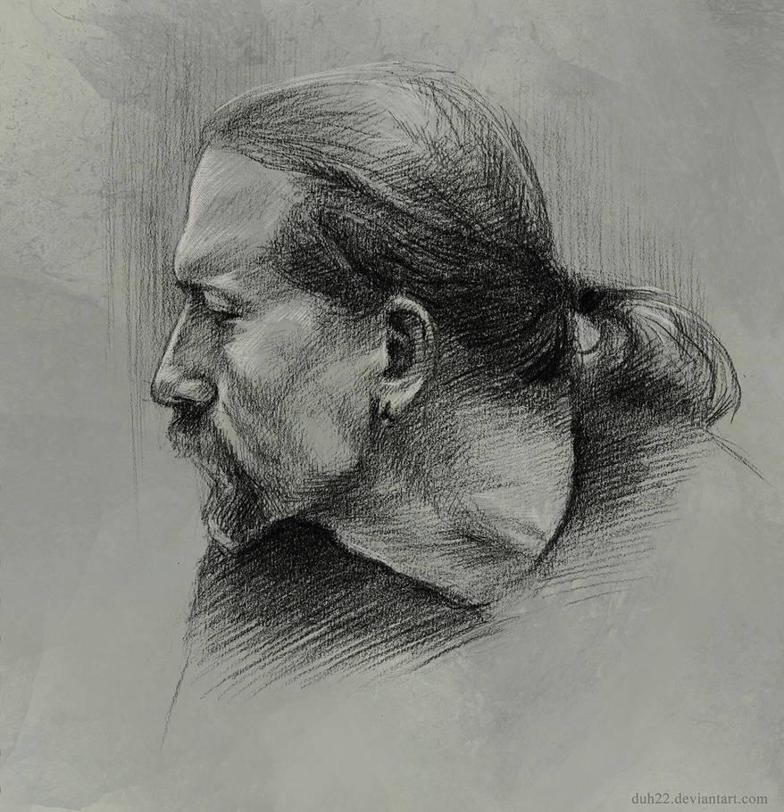 Sketch - Oleg Toropygin by Duh22