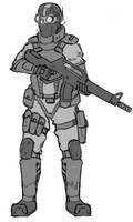 Archangel - Nighthawk Trooper by HeavyBenny