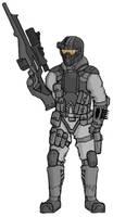 Archangel - Nighthawk Sniper by HeavyBenny
