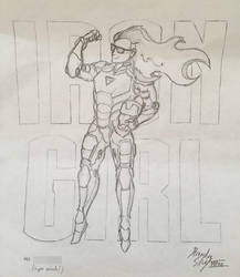 Iron Girl by HeavyBenny