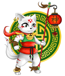 Chinese Cat by Mary1517