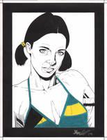 Lina in Bahaman Bikini by Knifley