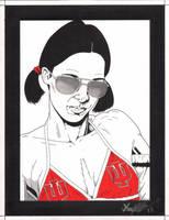 Lina in IU Bikini by Knifley