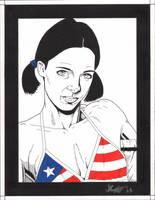 Lina in Puerto Rican Bikini by Knifley