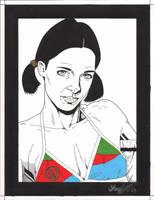 Lina in Eritrian Bikini by Knifley