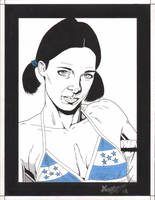 Lina in Honduran Bikini by Knifley