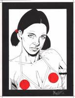 Lina in Japanese Bikini by Knifley