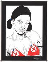 Lina in Wallis and Futuma Bikini by Knifley
