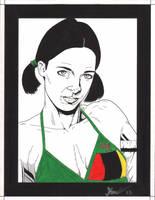Lina in Zambian Binini by Knifley