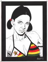 Lina in Zimbabweian Bikini by Knifley