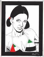Lina in United Arab Emirates Bikini by Knifley