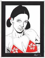Lina in Hong Kong Bikini by Knifley