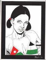 Lina in Jordanian Bikini by Knifley