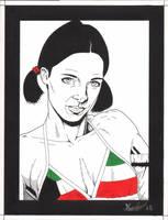 Lina in Kuwaiti Bikini by Knifley