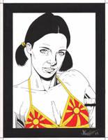 Lina in Macedonian Bikini by Knifley