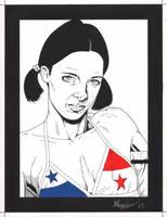 Lina in Panamanian Bikini by Knifley