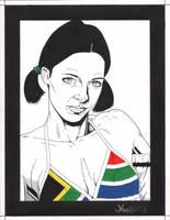 Lina in South African Bikini by Knifley