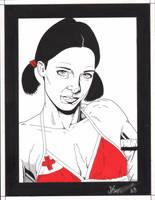 Lina in Tonga Bikini by Knifley