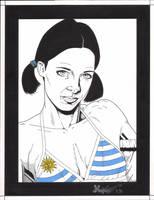 Lina in Uruguay Bikini by Knifley