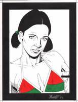 Lina in Belarus Bikini by Knifley