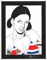 Lina in Costa Rican Bikini by Knifley