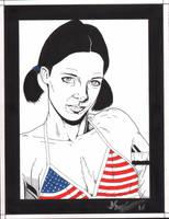 Lina in United States Bikini by Knifley