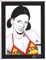 Lina in Grenada Bikini by Knifley