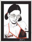 Lina in San Francisco Giants Bikini by Knifley