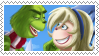 GriNoelle (Grinch x Noelle) Stamp #1 by Crystal-Zen