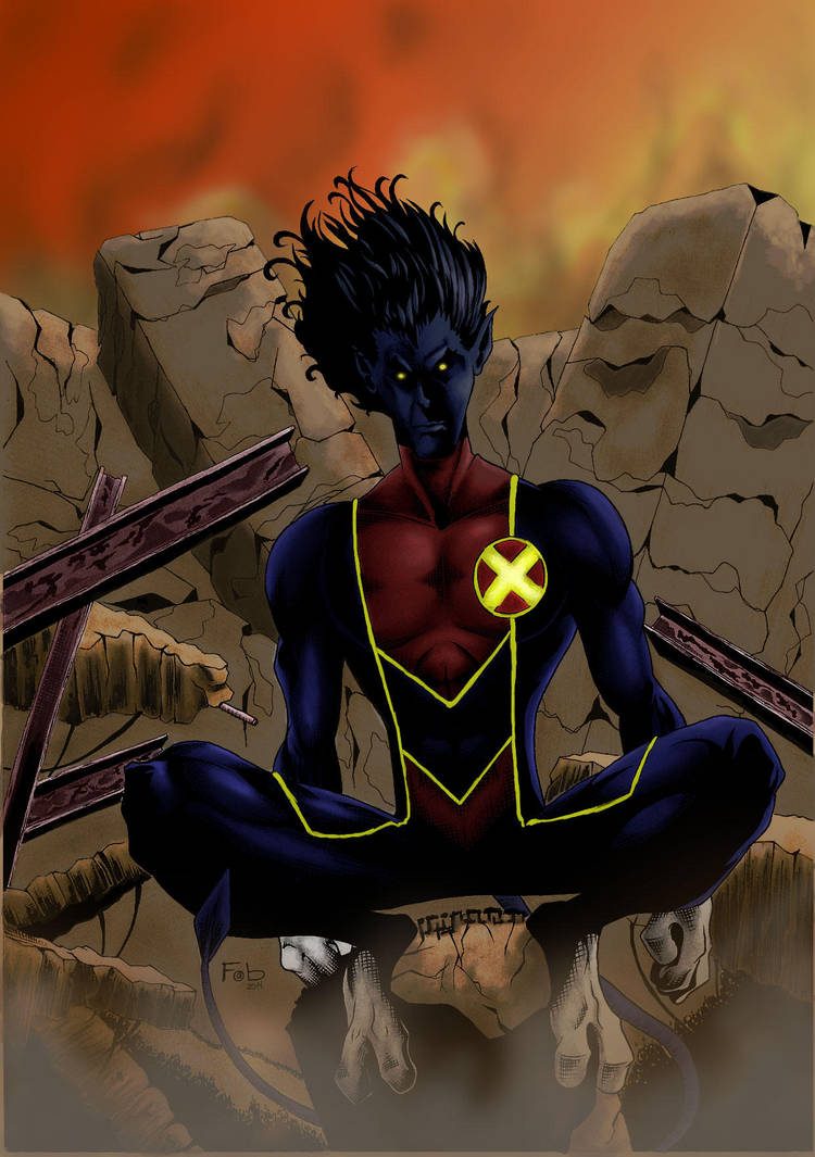 Nightcrawler by fabienart77