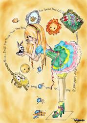 Wondrous Wonderland Alice by ForgottenDollie