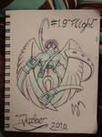 Inktober Day 19: (Flight) by FeralDoodle