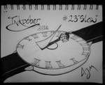 Inktober Day 23: (Slow) by FeralDoodle