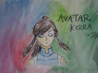 Korra by thedreamiscollapsing