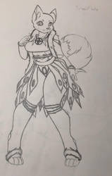 SnowFlake Re-drew by fanliterature101