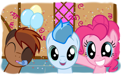 Friends at the Party by SloppyScribble