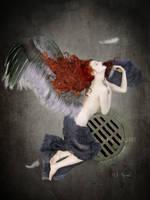Redhead Angel by MelGama