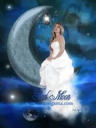 Sad Moon by MelGama