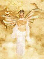 The Golden Angel by MelGama