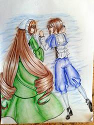 Suiseiseki and Souseiseki by ReneAoyama