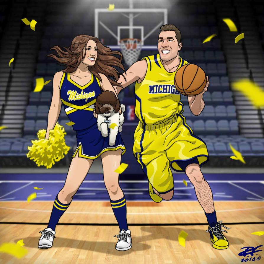 Basketball Couple By Pandaphobia On Deviantart