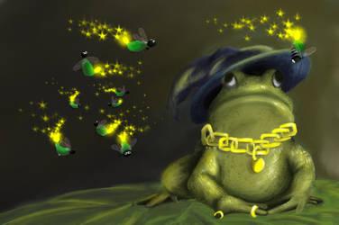 Froggy Pimp by CrazyConfuzing
