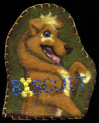 Biscuit's Badge by cricket00fur