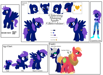 Glittershine full Ref by Clyra-The-Wolf