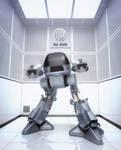 ED209 Testroom by 3DPORTFOLIO