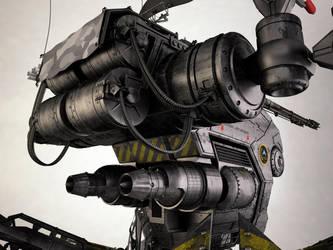 Mobile Infantry Recon Mech V by 3DPORTFOLIO